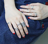 cheap -Women's Ring Set Silver Party Work Fashion European Daily Casual Costume Jewelry