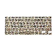cheap -Leopard Design Silicone Keyboard Cover Skin for Macbook Air 13.3/Macbook Pro 13.3 15.4,US version