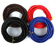 beadia 7мм круглый PU кожаный шнур для поделок ювелирных изделий браслета ожерелья корабля изготовления (3mts)
