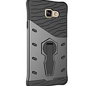 disco de silicone armadura para cobrir caso samsung a710 / choque A510 cobertura de absorção de ficar caso difícil