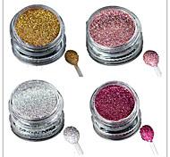 economico -1 pcs Polvere acrilica / Cipria / Polvere di glitter Glitter & Sparkle / Laser Holografico Nail Art Design