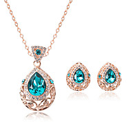 Women's Necklace/Earrings Jewelry Set Adjustable Adorable Gift Boxes & Bags Wedding Party Daily Casual Earrings Necklaces