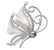 Недорогие -женщин кристалл бабочка полный горный хрусталь значки шарф пряжки моды Xmas подарок брошь