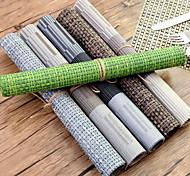 Simple nappe en plastique de style européen imperméable à l'eau anti-dérapant pad alimentaire occidental anti-hot table tapis