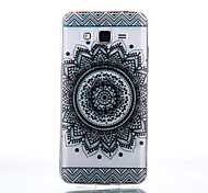 TPU Material Bilateral Flower Pattern Cellphone Case for Samsung Galaxy J7/J510/J5/J310/G530/G360