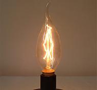 C35L 40W E14 Edison Halogen Bulb Light Retro Lamp Retro Vintage Industrial(AC220-240V)