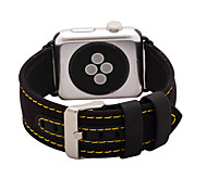 Watch Band for Apple Watch 3 38mm 42mm Nylon and Leather Watch Band Strap Classic Buckle