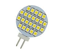 2 piezas blanco caliente 3500k ac / dc 12v g4 24 SMD LED de lectura lugar embarcación marina nos iluminan