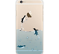 iPhone 7 Plus Penguin Pattern Slim TPU Soft Case for iPhone 6/6S