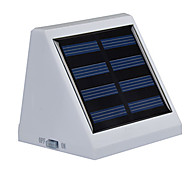 Недорогие -6000-6500 lm 4-Pin Светодиоды на солнечной батарее Утапливаемое крепление 3 светодиоды SMD 3528 Датчик Водонепроницаемый Холодный белый