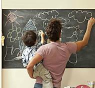Недорогие -Школьная доска Наклейки Простые наклейки / Настенные стикеры для заметок Декоративные наклейки на стены,PVC материал СъемнаяУкрашение