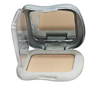 cheap -Maycheer® Natural Pearl Essence Pressed Powder Foundation Cosmetic Beauty Care Makeup for Face