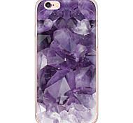 economico -Per Custodia iPhone 6 Custodia iPhone 6 Plus Custodie cover Ultra sottile Traslucido Custodia posteriore Custodia Effetto marmo Morbido