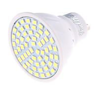 Недорогие -GU10 Точечное LED освещение MR16 60 светодиоды SMD 2835 Декоративная Тёплый белый Холодный белый 350lm 3000/6000K AC 220-240V