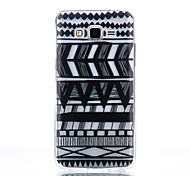 TPU Material Black Tribal Pattern Pattern Cellphone Case for Samsung Galaxy J710/J510/J5/J310/G530/G360