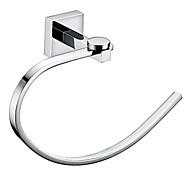 кольцо полотенца хром настенные латунь полотенце бар аксессуары для ванной комнаты