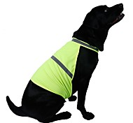cheap -Cat Dog Vest Dog Clothes Solid Colored Orange Yellow Mixed Material Costume For Pets Men's Women's Casual/Daily Sports