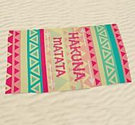 Пляжное полотенцеРеактивная печать Высокое качество 100% микро волокно Полотенце