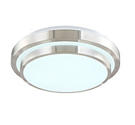 cheap -Modern / Contemporary Flush Mount Ambient Light - LED, 90-240V, Warm White Cold White Dimmable With Remote Control, LED Light Source