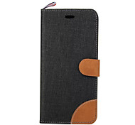 Luxury Canvas Cell Phone Sets For iPhone 7 7 Plus 6s 6 Plus SE 5s 5