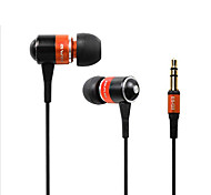 cheap -AWEI Q3 Super Bass earphones Noise cancelling Clear sound in ear earphone Fiber Cable for MP3