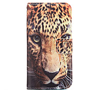cheap -Case For Samsung Galaxy Samsung Galaxy Case Card Holder Wallet with Stand Full Body Cases Leopard Print Soft PU Leather for A7(2016)
