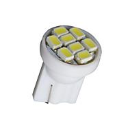 10 x bianco t10 8-SMD 3020 ha condotto cuneo lampada lampadina lato W5W 194 168 501 12v