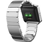 Недорогие -Ремешок для часов для Fitbit Blaze Fitbit Спортивный ремешок Нержавеющая сталь Повязка на запястье