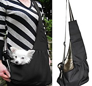 cheap -Cat Dog Carrier & Travel Backpack Shoulder Bag Pet Baskets Portable Green Blue Stripe Red/White White/Blue For Pets