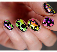 cheap -5 Diecut Manicure Stencil Glitters Fashion Daily High Quality