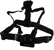 cheap -Chest Harness Straps Adjustable For Action Camera Gopro 5/4/3/3+/2/1 SJ4000 Universal Aluminium Alloy - 1
