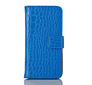 Flip Cover Luxury Crocodile Grain Leather Pouch Case For Apple IPhone7 IPhone7 Plus Mobile Phone Bag