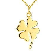 Недорогие -Женский Прочее Классический Мода Ожерелья с подвесками Бижутерия Позолота Ожерелья с подвесками , Новогодние подарки Свадьба Для