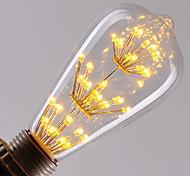 Недорогие -1pc e27 st64 led vintage эдисон светодиодная лампа накаливания ретро лампа накаливания (ac220-240v)