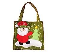Недорогие -2pcschristmas украшения новогодние подарочные пакеты конфеты мешки (типа случайная)