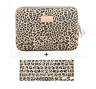 cheap -Sleeves for Sleeve Case Leopard Print Textile MacBook Air 13-inch / Macbook Pro 13-inch / Macbook Air 11-inch