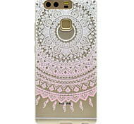 Pink Sunflower Pattern High Permeability TPU Material Phone case forHuawei P9 Lite P9 P9 Plus  P8 Lite Honor V8  Honor 8
