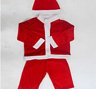 костюм Санта-Клауса одежду детей рождественские костюмы показать 100-110cm