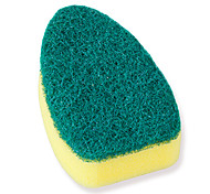 cheap -High Quality 2pcs Sponge Cleaning Brush & Cloth Tools Protection, Kitchen Cleaning Supplies