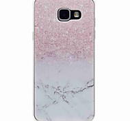cheap -Case For Samsung Galaxy A5(2016) A3(2016) Pattern Back Cover Marble Soft TPU for A5(2016) A3(2016)