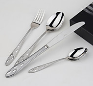 cheap -4-Piece Slap-Up Western Restaurant The Kitchen Utensils Stainless Steel Children knives And Forks