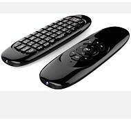 T10 2,4 г двойной пульт дистанционного управления клавиатурой мини беспроводная клавиатура