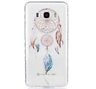 Wind Chimes Pattern Tpu Material Highly Transparent Phone Case For Samsung Galaxy G530 J3 PRO j1 J3 J5 J7 (2016)