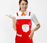 abordables -producto de Navidad santa claus delantal suministros de cocina decoraciones de navidad