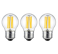 5W E26/E27 LED Filament Bulbs G45 6 leds COB Warm White 550lm 2700K AC 220-240V