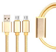 Micro USB 3.0 Плетение Кабели Назначение Samsung / Huawei / Sony / Nokia / HTC / Motorola / LG / Lenovo / Xiaomi 14*5*1 cm Нейлон