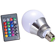 4W E14 GU10 B22 E26/E27 LED Smart Bulbs A60(A19) 1 LEDs High Power LED Dimmable Remote-Controlled Decorative RGB 250-320 AC 85-265 AC