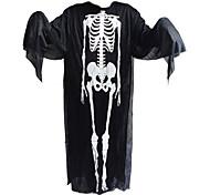 1шт Хэллоуин одежды и призрак перчатки и кричать скелет маски