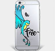 Free bird  TPU Case For Iphone 7 7Plus 6S/6 6Plus/5 5S SE iPhone Cases