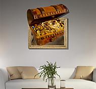 3d стены стикеры деньги и сокровища пвх стикеры стены декоративные материалы кожа